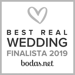 Finalista Best Real Wedding 2019 Bodas.net
