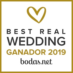 Ganador Best Real Wedding 2019 Bodas.net