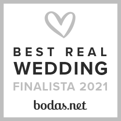 Finalista Best Real Wedding 2021 Bodas.net