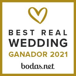 Ganador Best Real Wedding 2021Bodas.net