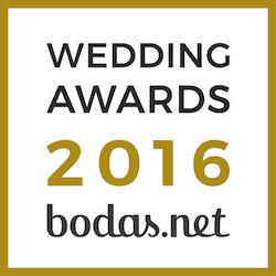 Wedding Awards 2016 Recomendado en bodas.net