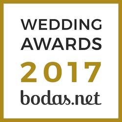 Letras XXL, ganador Wedding Awards 2017 Bodas.net