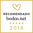 ¡Tenemos el sello de Oro en Bodas.net gracias a las opniones de nuestros clientes