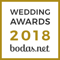 Pie de foto, ganador Wedding Awards 2018 Bodas.net