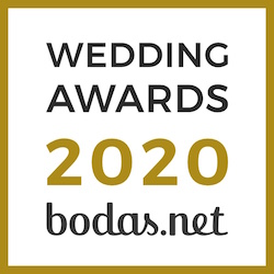 Chantú Novias, ganador Wedding Awards 2020 Bodas.net