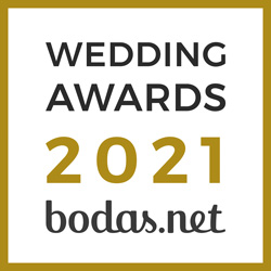 Gala García Novias, ganador Wedding Awards 2021 Bodas.net