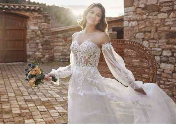 Vestidos de Novia White One